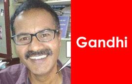 Gandhi Cartoon Gallery