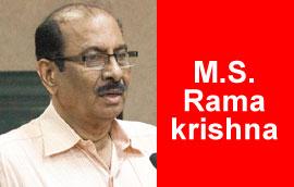 M. S. Ramakrishna Cartoon Gallery