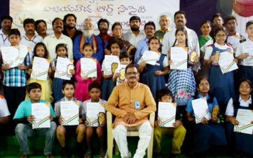 Prize winning students